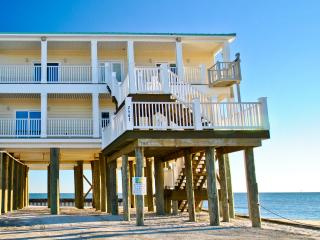 Beautiful Gulf-front 4 bedroom 2.5 bath home on the far west end of Dauphin Island - Dauphin Island vacation rentals
