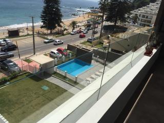 departamento frente a playa amarilla en con con - Concon vacation rentals