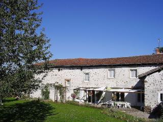 Large Farmhouse In Pretty Hamlet - Chabanais vacation rentals