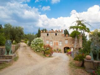 Chianti castle Lodging 10p - San Polo in Chianti vacation rentals