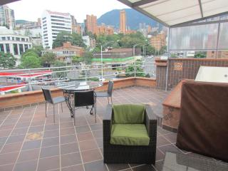 5 Bedroom PH and 2 bedroom below it ROOF DECK HOT TUB AC Can Party here. - Medellin vacation rentals