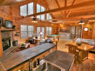 Cozy Cabin with Internet Access and A/C in Helen - Helen vacation rentals