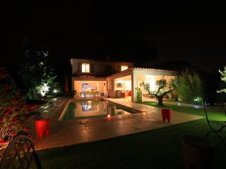 Superb 5 bedrooms heated pool bay view air cond - Le Lavandou vacation rentals
