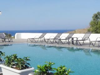 """Sea"" luxurious sea front villa with pool - Karterados vacation rentals"