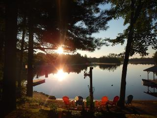 Tranquil Waterfront Cabin on Quiet Spring Fed Lake - Kingston vacation rentals