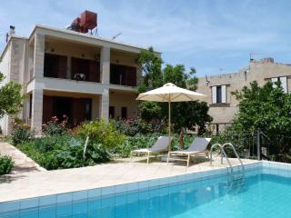 Nice Villa with A/C and Shared Outdoor Pool - Vouves vacation rentals