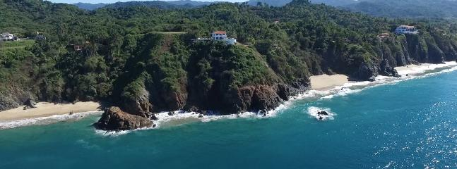 Spectacular uninterrupted views! - Casa Melissa - Oceanfront fab views, pool,  tennis - San Pancho - rentals