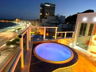 Sexiest penthouse in Rio ocean front&private pool! - Rio de Janeiro vacation rentals