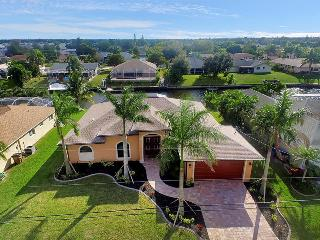 Villa Sofia - Gulf Access canal sleeps 8~Newer Home! - Cape Coral vacation rentals