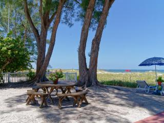 Beautiful Gulffront Cottages Sandy Shores/PATIO - Indian Rocks Beach vacation rentals
