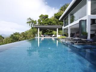 SUR256 Luxury Tropical Hill Sea View Villa - Surin vacation rentals