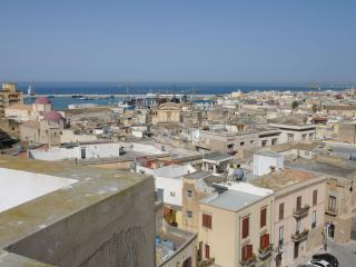 double room in a very central penthouse, bunk bed - Mazara del Vallo vacation rentals
