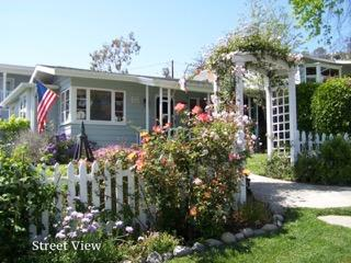 Laguna Cottage by the Sea with an ocean view and short walk to town and beach. - Laguna Beach vacation rentals