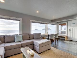 Renovated oceanfront, pet-friendly condo - room for 6! - Oceanside vacation rentals