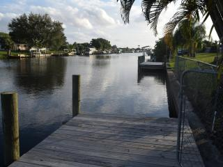 Water Front with private dock,cable,internet - Port Charlotte vacation rentals
