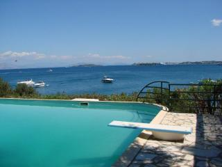 Luxury villa with private beach and  pool - Gouvia vacation rentals