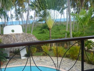 A pretty house, pool overlooks the beach - Las Terrenas vacation rentals