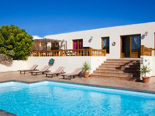 Comfortable Villa with Mountain Views and Grill - Teguise vacation rentals