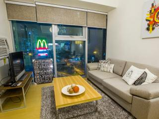 City View from a Modern 1BR in BGC - Taguig City vacation rentals