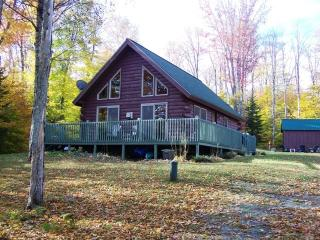 #140 Cozy log cabin located where Moose out number People - Kokadjo vacation rentals