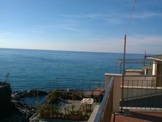 RioRooms #2  terrace overlooking the sea - Riomaggiore vacation rentals