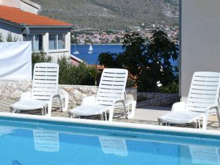 6 Apartments House with Pool for 20 near Trogir - Okrug Donji vacation rentals