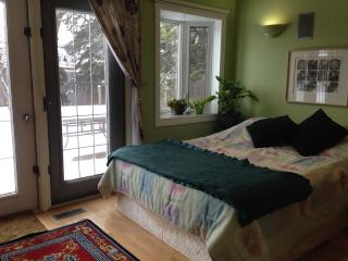 The Garden Room - luxury near LRT - Edmonton vacation rentals