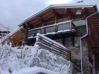 grand chalet plein sud proche courchevel 3  vallee - Montagny vacation rentals