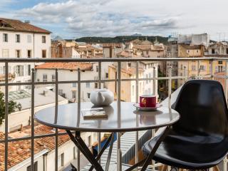Appartement 65m² centre Clim 2 Chambres Balcons - Aix-en-Provence vacation rentals