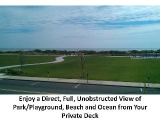 Beautiful Ocean/Beach Front 3 BR Condo with Pool - Wildwood Crest vacation rentals