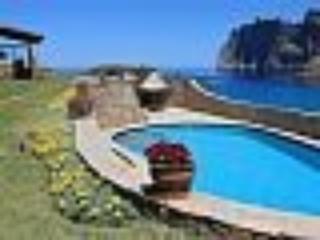 Staffed villa spectacular location overlooking sea - Cala San Vincente vacation rentals