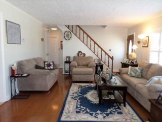 Private upstairs bedroom(s) and bathroom in house - Levittown vacation rentals