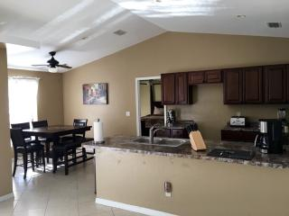 4 bed/2 bath waterfront home private pool-lake ken - Cape Coral vacation rentals