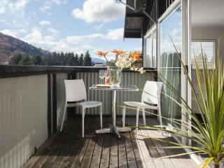 Sunny 1 bedroom Queenstown Apartment with Deck - Queenstown vacation rentals