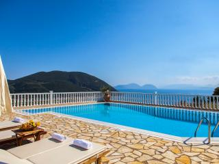Luxury Villa with Swimming Pool and Sea View - Vasiliki vacation rentals