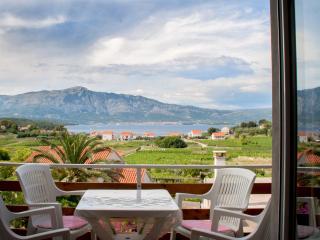 Baglija 2. Apt. Amazing view - Lumbarda vacation rentals