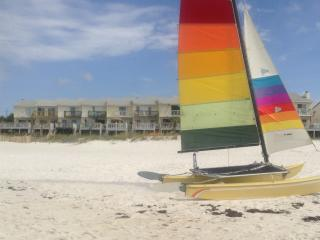 WAlK off DECK into SAND/PET FREINDLY - Panama City Beach vacation rentals