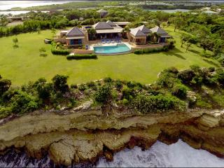 Luxury Oceanfront Villa with Spectacular Views - Long Bay vacation rentals