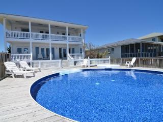 Vitamin Sea...Oceanfront House with Pool - Carolina Beach vacation rentals