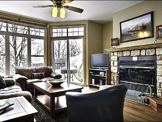 Lovely Views of Mont Tremblant & Village - Spacious Layout and Tasteful Decor (6023) - Mont Tremblant vacation rentals