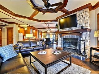 Short walk to Village - Common Area Summer Swimming Pool and Hot Tub (6127) - Mont Tremblant vacation rentals