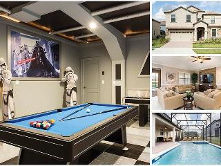 Champion Villa | Luxury and Upgrades Throughout, Star Wars Theme Game Room, Arcades, Furnished Dec 2015 - Four Corners vacation rentals