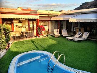 Villa with Jacuzzi Private Garden and Heated Pool - La Playa de Tauro vacation rentals