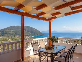 Apartment with Shared Swimming Pool and Sea View - Vasiliki vacation rentals