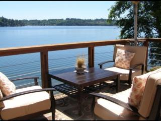 Beautiful Puget Sound Waterfront House Shelton WA - Shelton vacation rentals