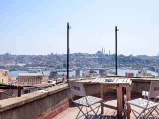 Galata Flat With Amazing Sea View Terrace - Istanbul vacation rentals