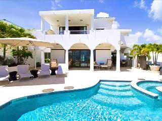 Beachfront Villa, jacuzzi and private beach access Cupecoy Beach - Sint Maarten vacation rentals