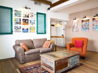 2Br NATAN HAHAHAM St. RUSTIC Apt !! - Tel Aviv vacation rentals