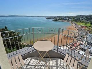 1 Astor House Stunning sea views and balcony large one bed sleeps 2-4 - Torquay vacation rentals