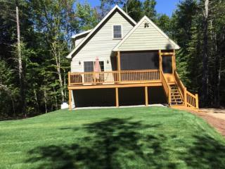 BRAND NEW  RUSTIC 4 BEDROOM 2 BATH CHALET - Moultonborough vacation rentals